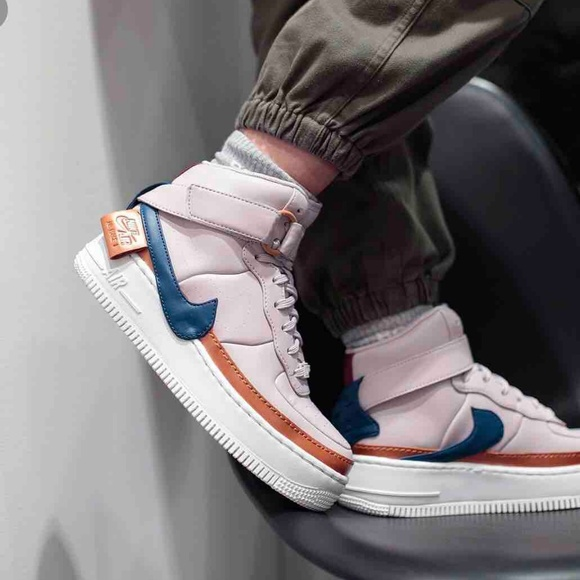 Nike AIr Force 1 Jester HI XX Violet ASH W AUTHENT NWT